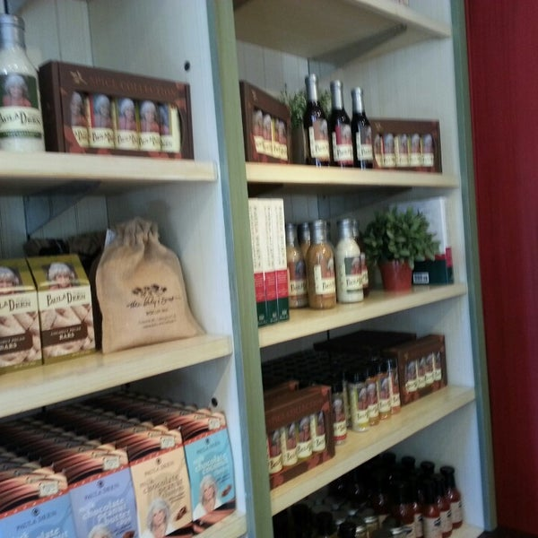 Photo taken at The Paula Deen Store by Jimmy N. on 3/24/2013
