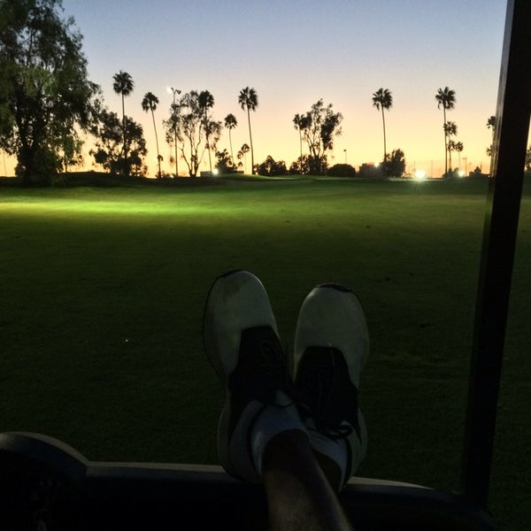 Photo taken at Westchester Golf Course by Juan M. on 9/7/2014
