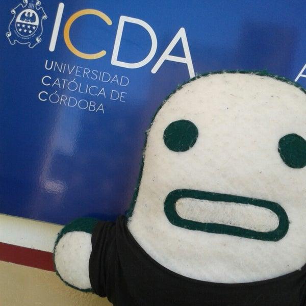 Photo taken at ICDA - Escuela de Negocios de la UCC by Pauli on 11/22/2013