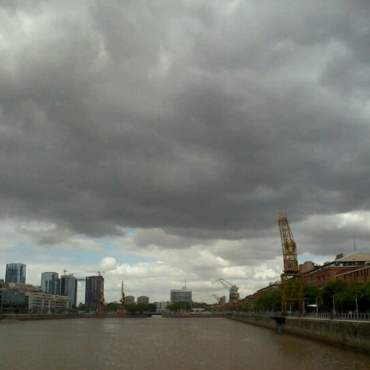 Photo taken at Puerto Madero by Leo P. on 11/12/2012