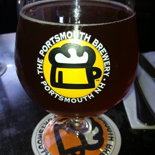 Photo taken at Portsmouth Brewery by Nicole O. on 10/26/2012