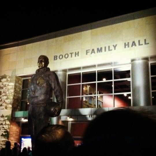Photo taken at Allen Fieldhouse by Alyissa J. on 11/27/2012