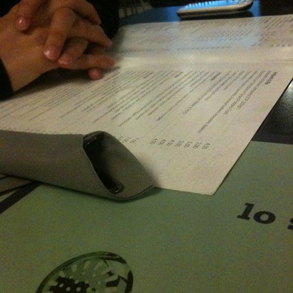 Photo taken at Pizzeria Ristorante Modo by Francesco T. on 3/21/2013