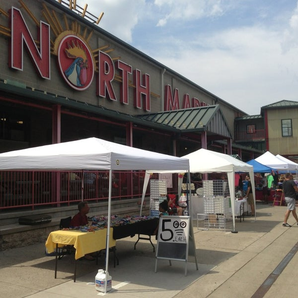 Photo taken at North Market by B. Campbell on 6/23/2013