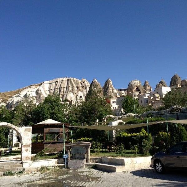7/4/2013 tarihinde Marcel D.ziyaretçi tarafından Tourist Hotels & Resorts Cappadocia'de çekilen fotoğraf