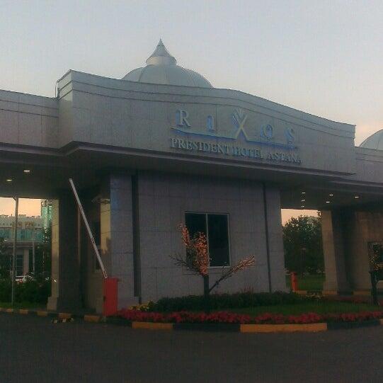 8/15/2013 tarihinde Y M.ziyaretçi tarafından Rixos President Astana'de çekilen fotoğraf