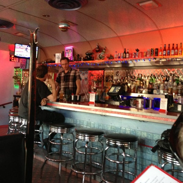 Photo taken at Silk City Diner Bar & Lounge by Betsy L. on 6/29/2013