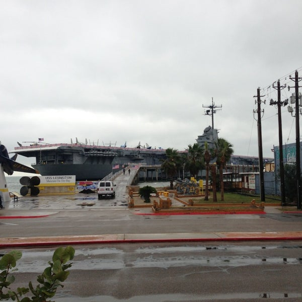 Photo taken at USS Lexington Museum On The Bay by Jean Y. on 1/1/2013