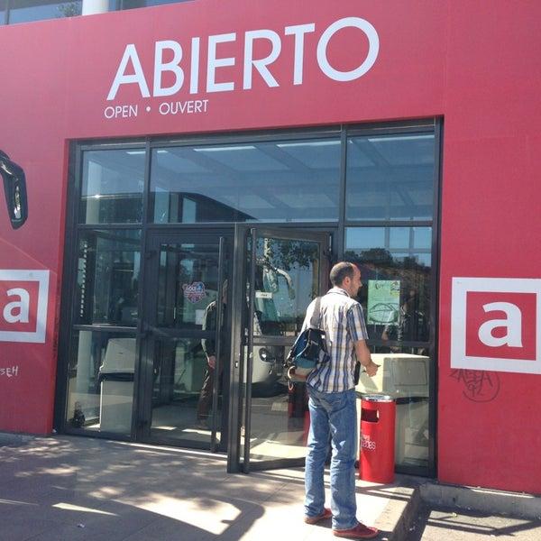 Photo taken at Abades Puerta de Andalucía by SUZUKI Y. on 4/16/2013