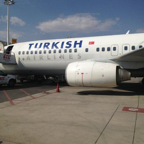 Photo taken at Ankara Esenboğa Airport (ESB) by Atilla U. on 8/30/2013