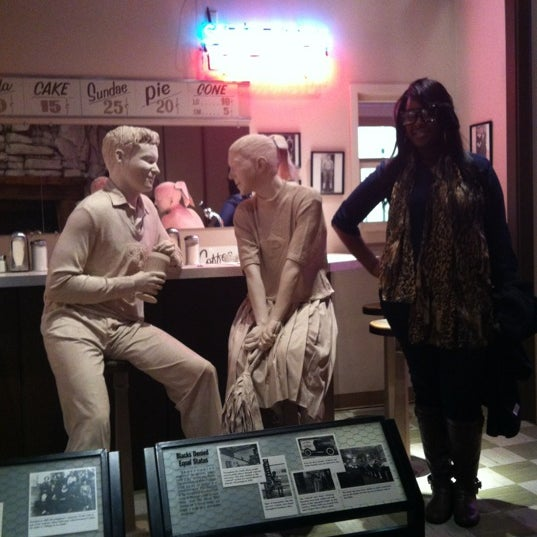 Photo taken at Birmingham Civil Rights Institute by Jessica E. on 12/7/2012