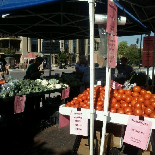 Photo taken at Dane County Farmers' Market by Emily F. on 9/15/2012