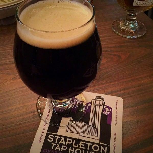 Photo taken at Stapleton Tap House by Steve H. on 11/20/2014