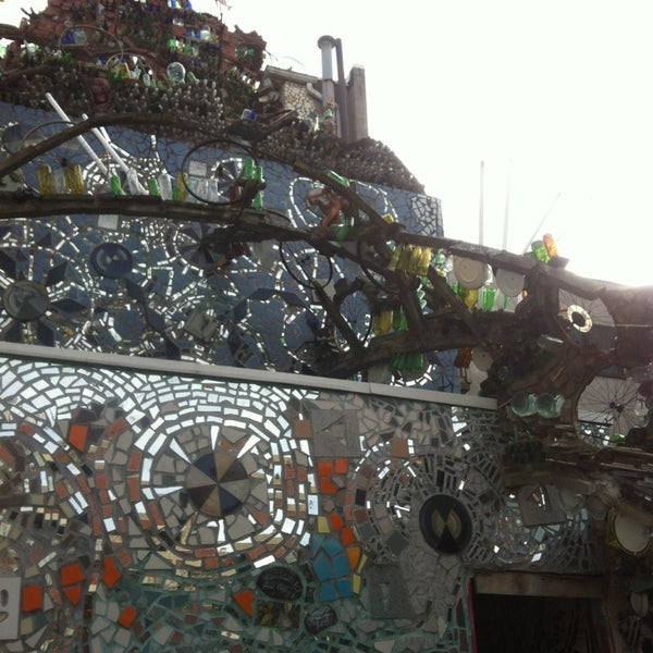 Photo taken at Philadelphia's Magic Gardens by Ryan G. on 2/24/2013
