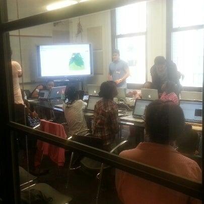 Photo taken at NYU ITP by Yvahn on 9/15/2012