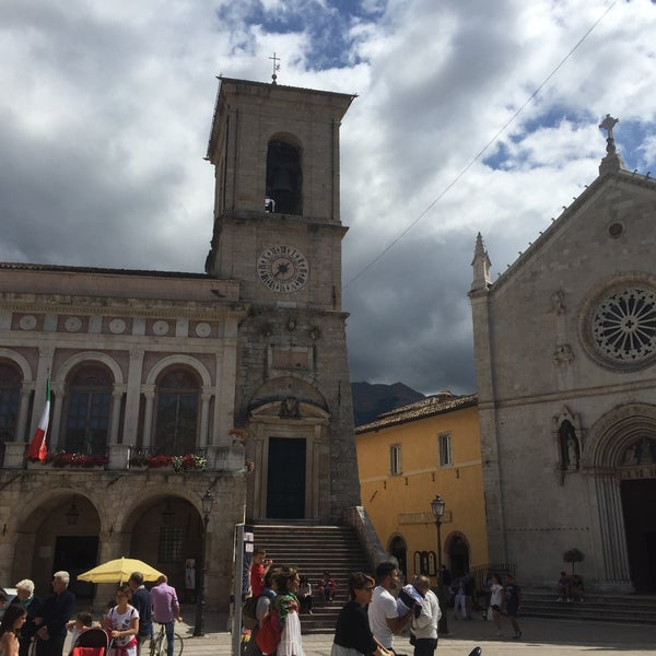 Photo taken at Norcia by Diego T. on 8/11/2016