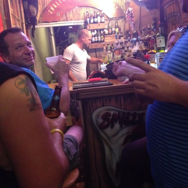 Photo taken at Smallest Bar by Stephanie U. on 6/21/2014