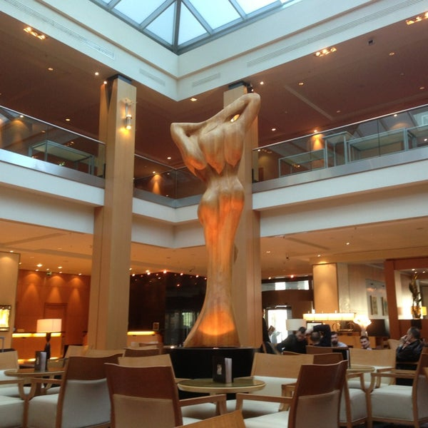Hilton Hotel Wien Executive Lounge