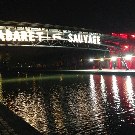 Снимок сделан в Cabaret Sauvage пользователем Stef E. 11/6/2012