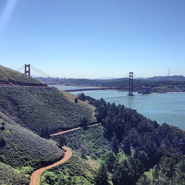 Photo taken at Vista Point by Frank M. on 4/17/2013