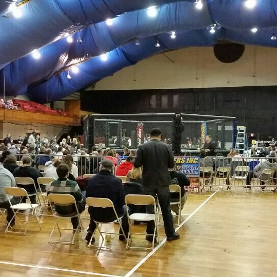 Photo taken at Main Street Armory by Dan M. on 1/24/2016