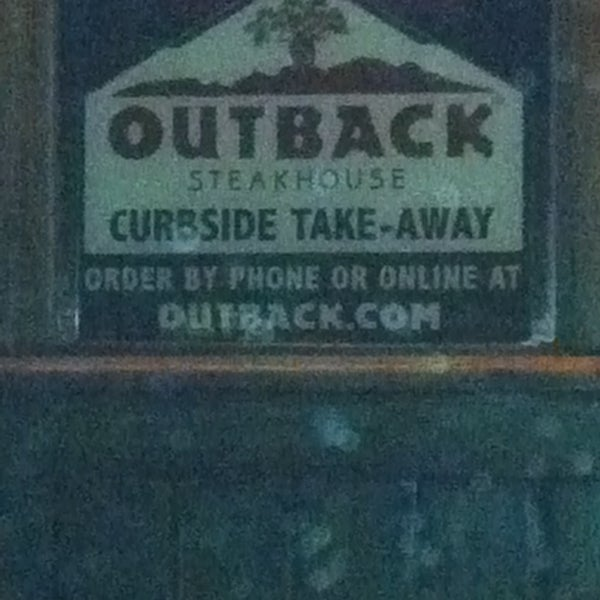 Photo taken at Outback Steakhouse by John O. on 1/19/2013