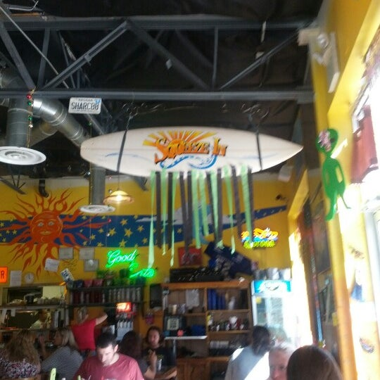 Photo taken at Squeeze In by Daniel K. on 10/8/2012
