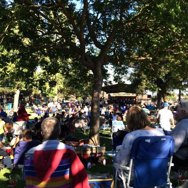 Photo taken at Burton Park by Phillip K. on 7/19/2014