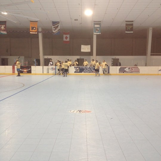 Photo taken at Las Vegas Roller Hockey Center by Nicholas A. on 2/18/2012