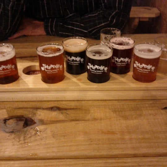 Photo taken at Strange Craft Beer Company by David on 10/5/2012