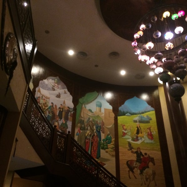 Photo taken at Gulnaz Cafe by Anastasia on 5/22/2014