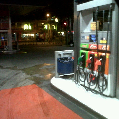 Photo taken at Petron by Suzzzie S. on 2/19/2013