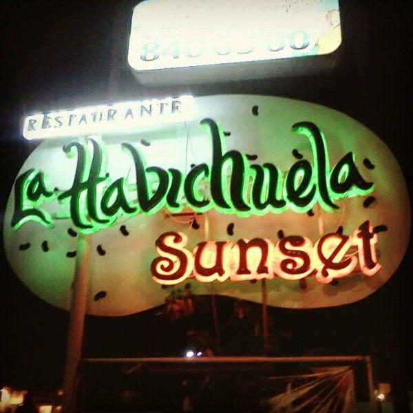 Foto tomada en La Habichuela Sunset por Jesús C. el 11/3/2012