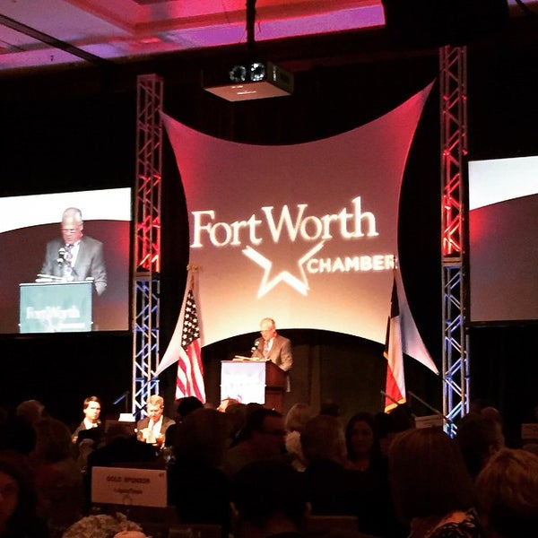 Photo taken at The Worthington Renaissance Fort Worth Hotel by Mike M. on 6/5/2015