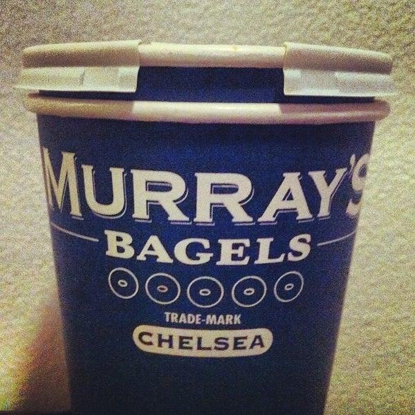 Photo taken at Murray's Bagels by Jon-Jon G. on 12/24/2012