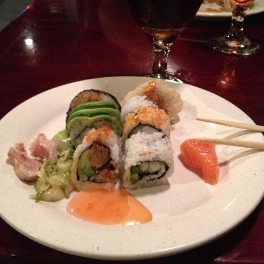 Blue fish japanese steak house and sushi bar sushi for Blue fish sushi menu