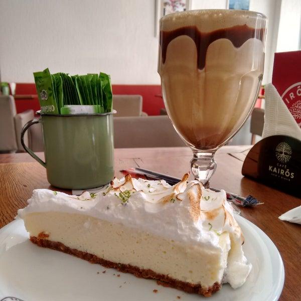 Frozen cappuccino e torta de limão
