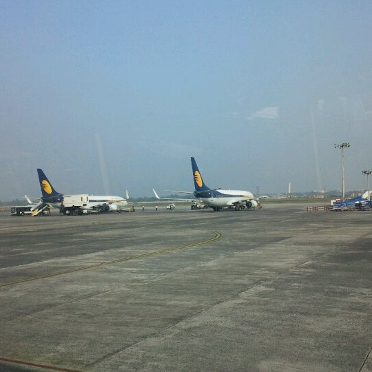Photo taken at Netaji Subhash Chandra Bose International Airport (CCU) by Shankar S. on 12/30/2012