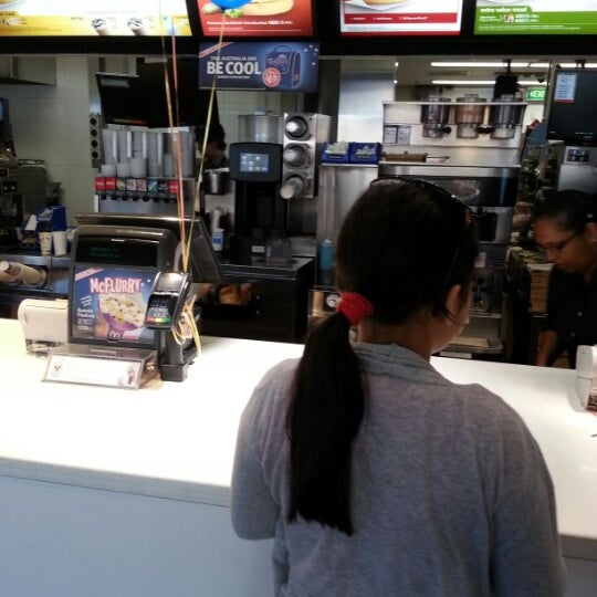 Photo taken at McDonald's by Grace Widjaja N. on 1/4/2013