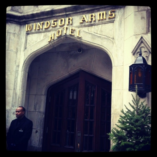 Photo taken at Windsor Arms Hotel by Sean B. on 11/20/2012