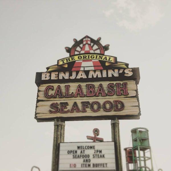 Photo taken at The Original Benjamin's Calabash Seafood by Ben C. on 7/5/2016