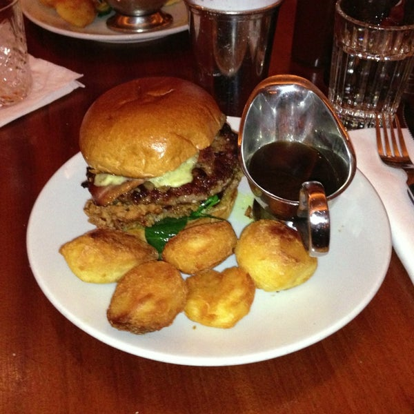 Photo taken at Hawksmoor Seven Dials by Kev on 12/22/2012
