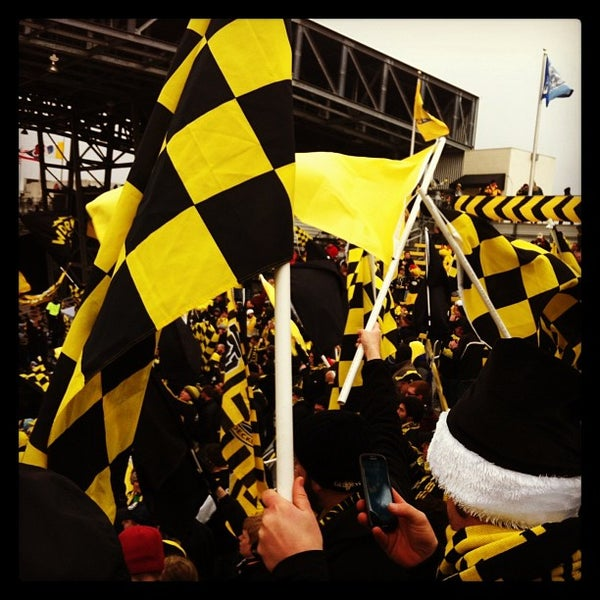 Photo taken at MAPFRE Stadium by Mike I. on 3/16/2013
