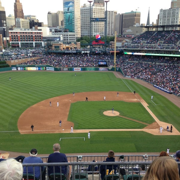 Photo taken at Comerica Park by Tom K. on 6/5/2013