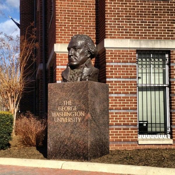 Photo taken at The George Washington University by Anthony C. on 2/7/2013