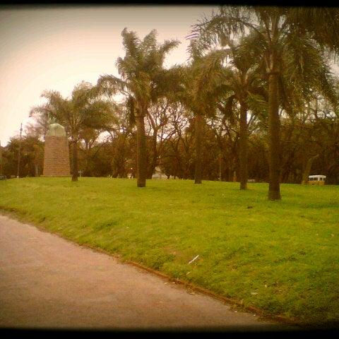 Photo taken at Parque José Enrique Rodó by Alexis U. on 10/18/2012