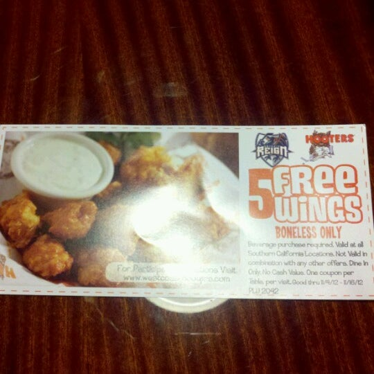 Photo taken at Hooters of Ontario by Jennifer S. on 11/5/2012