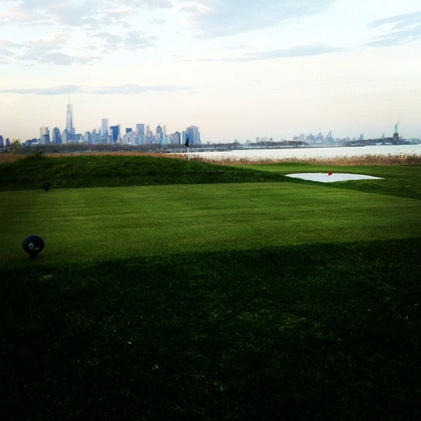 Photo taken at Liberty National Golf Course by Philip R. on 5/2/2014