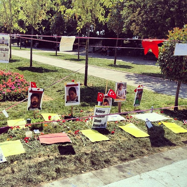 7/15/2013にUluk K.がTaksim Gezi Parkıで撮った写真