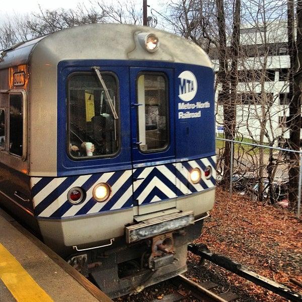 Photo taken at Metro North - North White Plains Station by John B. on 1/31/2013